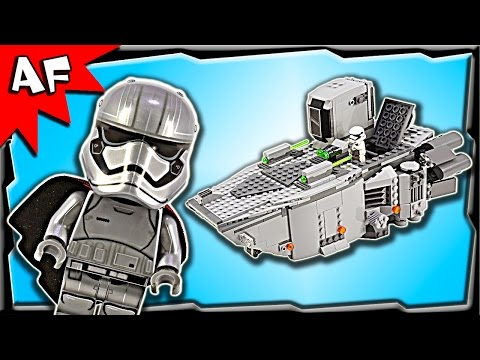 Lego Star Wars First Order Transporter 75103 Stop Motion Build Review