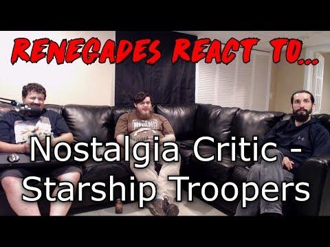 Renegades React to... Nostalgia Critic - Starship Troopers