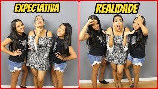 EXPECTATIVA VS REALIDADE -  Sobre Irmãs Gêmeas