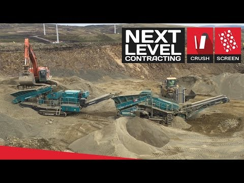 AMP Windfarm Project - Contract Crushing & Screening