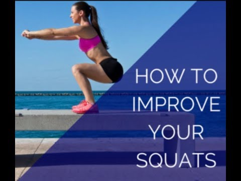 Tips to improve your squat form.