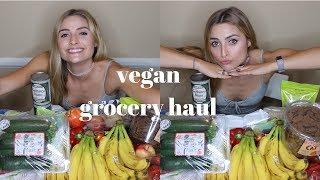 Plant Based Vegan Grocery Haul   Chantymarie