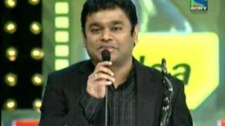 AR RAHMAN GOD OF MUSIC GETTING TWO FILMFARE AWARDS 54TH