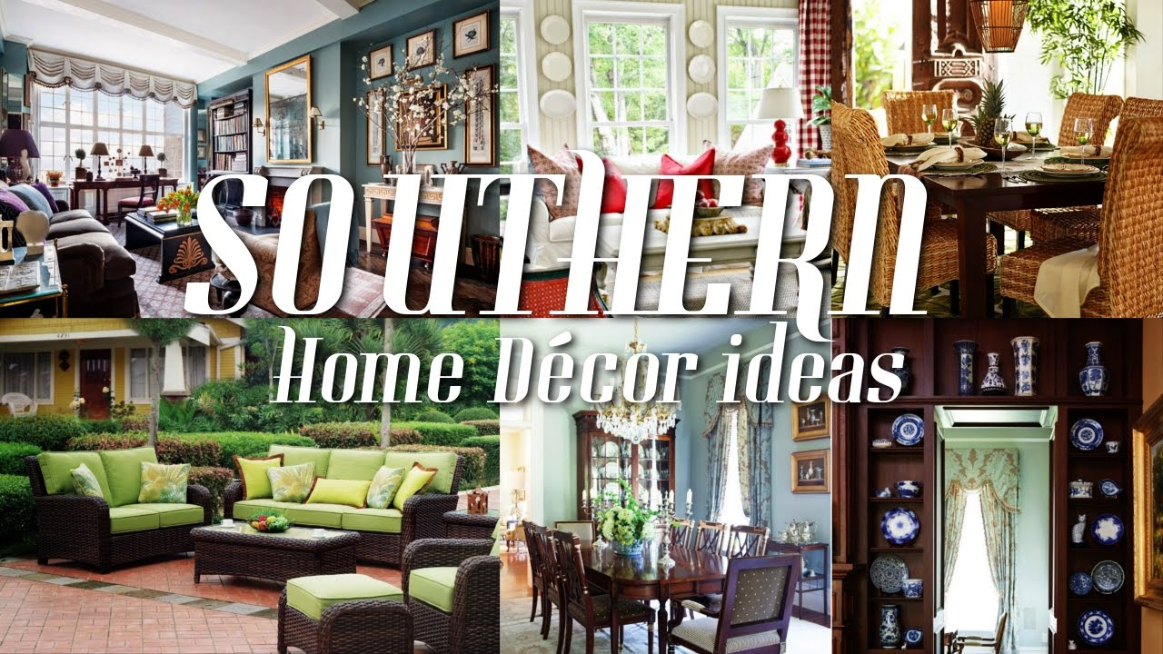 5 southern home dcor ideas - Southern Home Decor Ideas