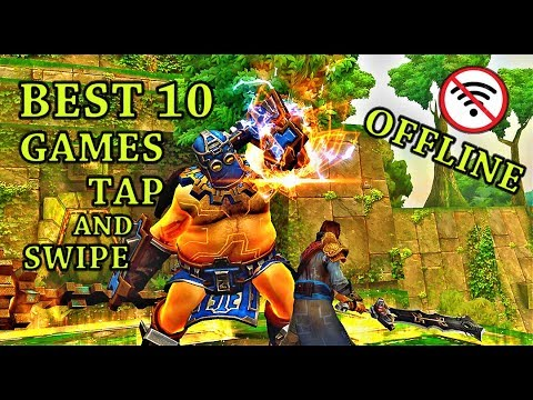 BEST 10 GAMES HD Hack'N Slash RPG Tap And Swipe For Android