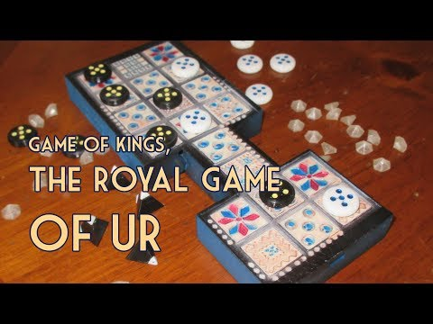 Royal Game of Ur - Game Play Variations