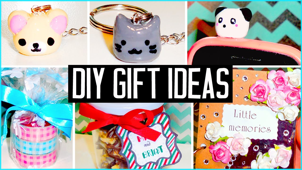 DIY Gift Ideas Make Your Own Cheap Cute Presents Christmas Birthdays
