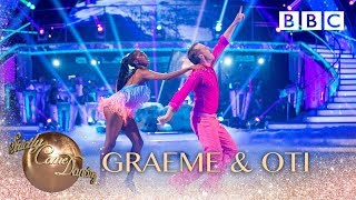 Graeme Swann and Oti Mabuse Jive to 'Don't Stop Me Now' by Queen - BBC Strictly 2018