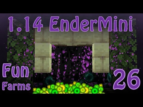 Enderman Farm and Spawning Changes in Minecraft 1.14 [Fun Farms 26]