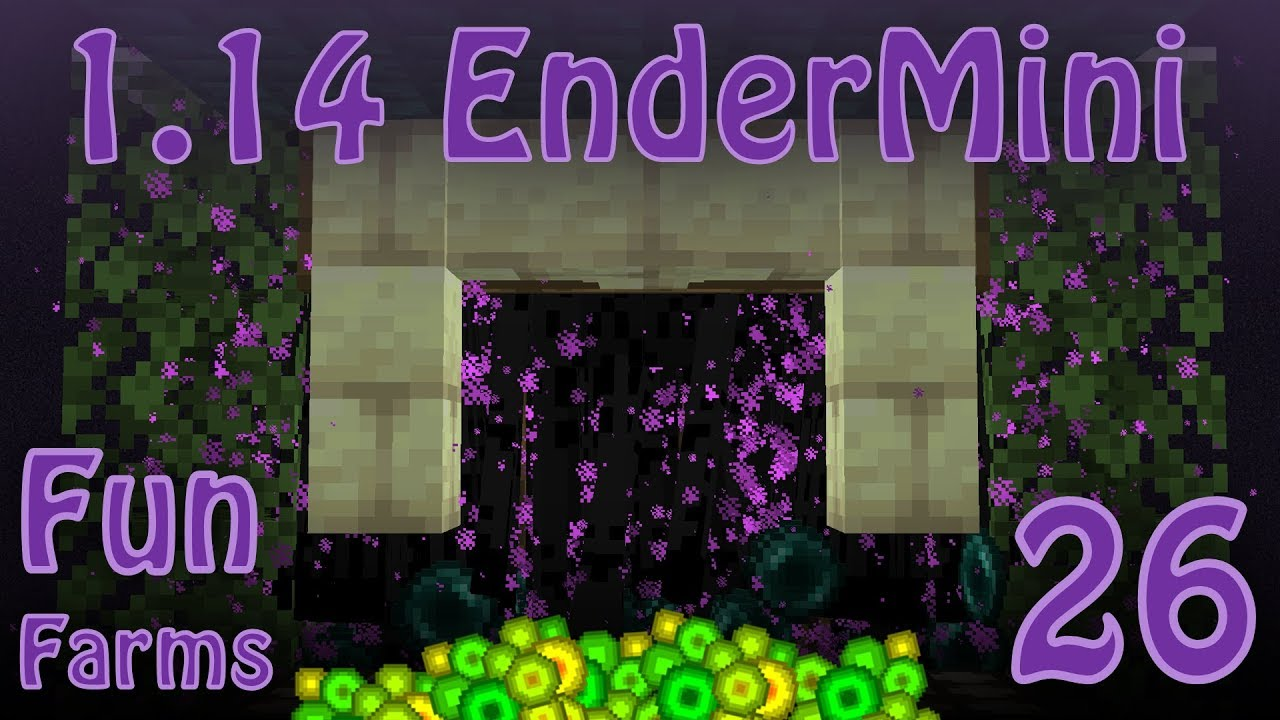 Enderman Farm and Spawning Changes in Minecraft 1 14 [Fun Farms 26]