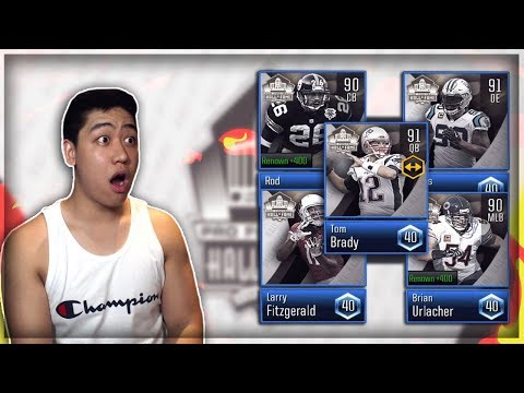 MADDEN OVERDRIVE HALL OF FAME FIRST LOOKS!! GREEN ROOM PACK OPENING!!