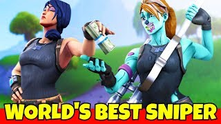 I paid the worlds best sniper to play with me... (carried me)