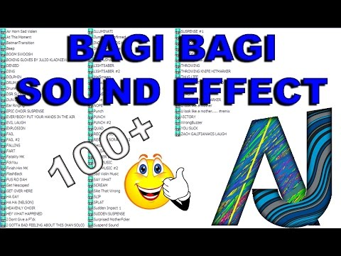 Sound effect youtuber indonesia - bagi bagi sound effect