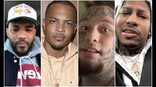 Rappers and Celebs React To Chris Brown Rape Allegations T.I Joyner Lucas Stitches Trouble
