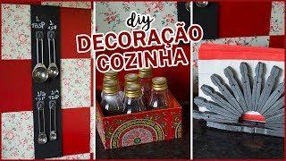 DIY – Ideias FÁCEIS e BARATAS de decoração para a cozinha