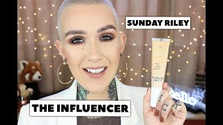 Sunday Riley The Influencer Foundation Review & Wear Test