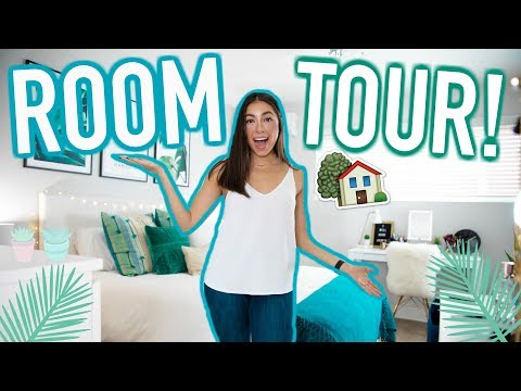ROOM TOUR 2018! My LA Basement Bedroom! | Jeanine Amapola