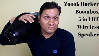 Zoook Rocker Boombox | 5 in 1 BT Wireless Speaker