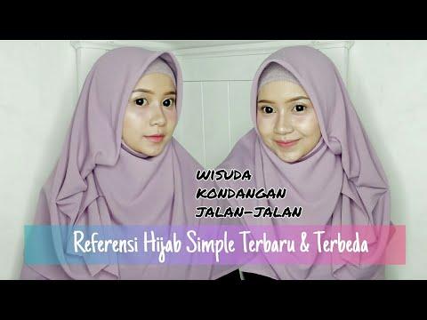 Tutorial Hijab Pesta Wisuda Menutup Dada