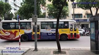 Wheels On The Bus Ha Noi P4 🚌 Nursery Rhymes 4 Kids   HT BabyTV ✔︎