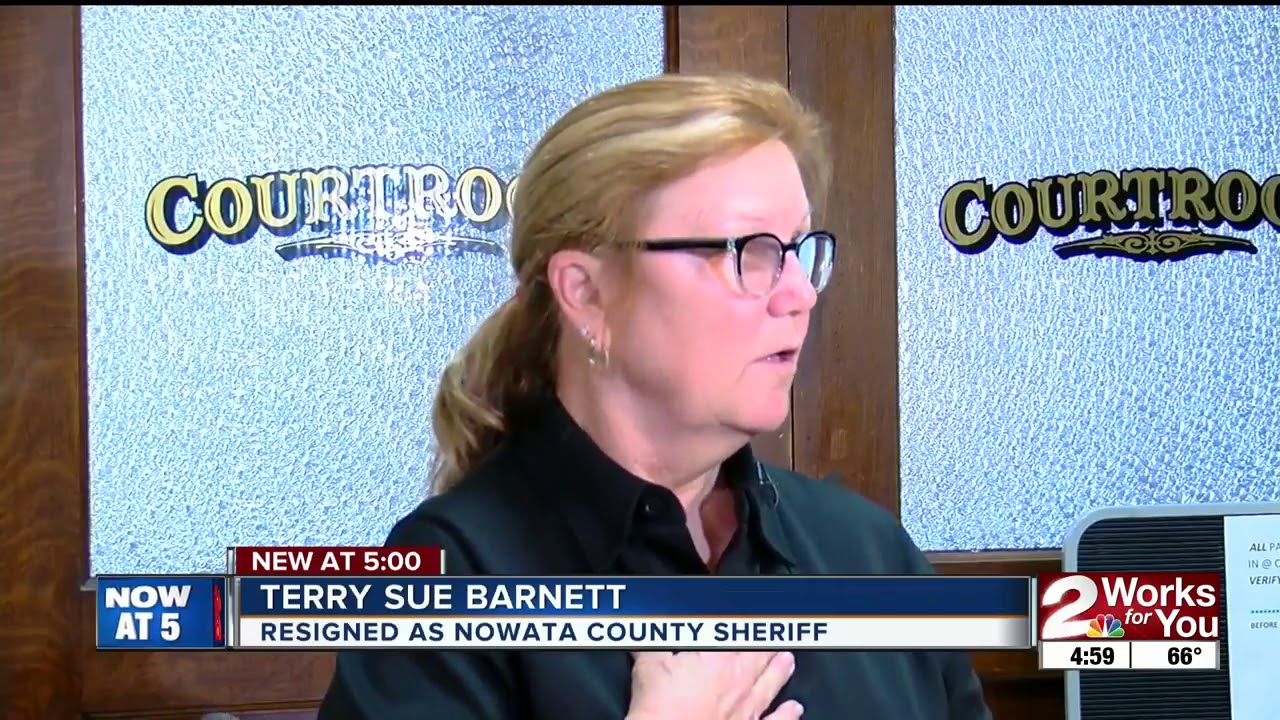 Oklahoma Sheriff Terry Barnett resigns along with most of
