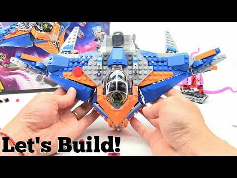 LEGO Guardians of the Galaxy: The Milano vs. The Abilisk 76081 - Let's Build!