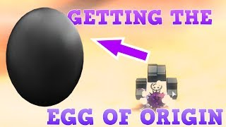 FINDING THE EGG OF ORIGIN (ROBLOX Egg Hunt 2019) WITHOUT USING AN UMBRELLA