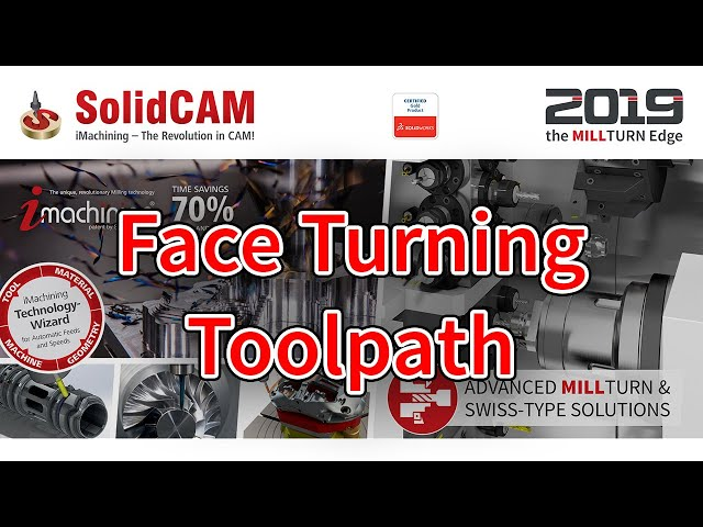 Face Turning Toolpath