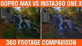 GoPro MAX Vs Insta360 ONE X Footage Comparison