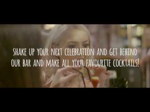 Cocktail masterclass promotional video.