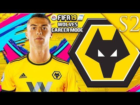 CRISTIANO RONALDO SIGNS! FIFA 19: WOLVES CAREER MODE S2 #1