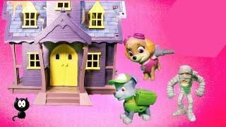 PAW PATROL Nickelodeon Paw Patrol Rocky Spooky Birthday Party