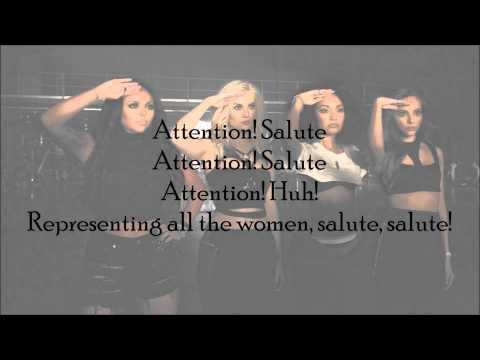Little Mix - Salute (with Lyrics)