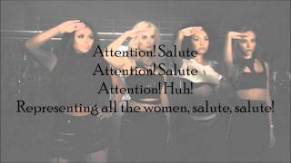 Little Mix - Salute (with Lyrics)