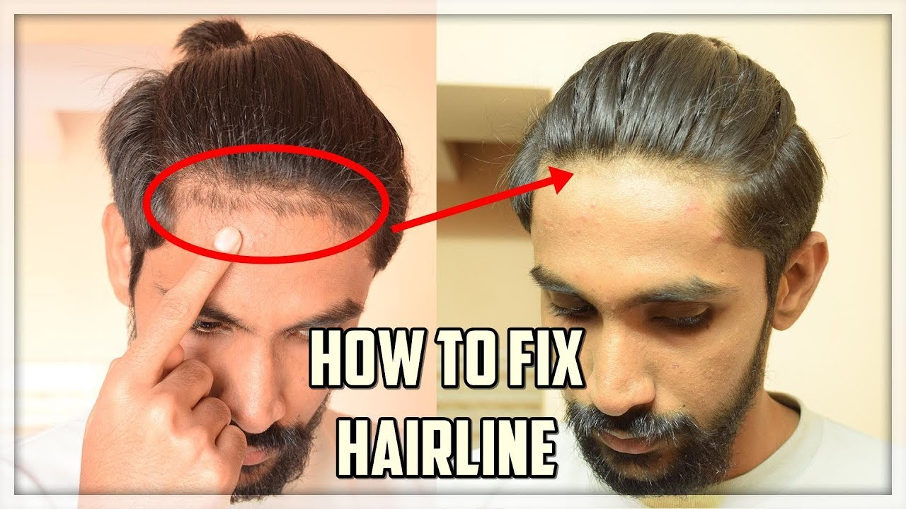 How To Fix Edge Up Your Hairline At Home Without Barber