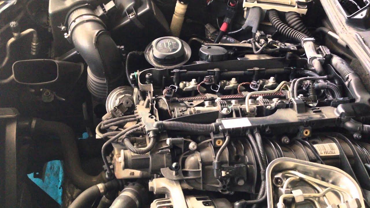 Removal injectors E90 LCI BMW 3 Series  YouTube