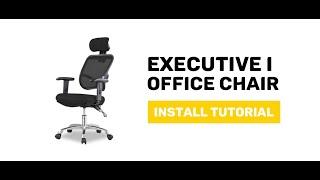 JIJI Executive I. Office Chair - Display and Install Procedure