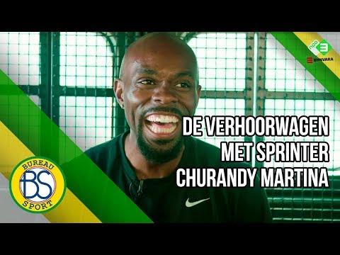De Verhoorwagen met sprinter Churandy Martina