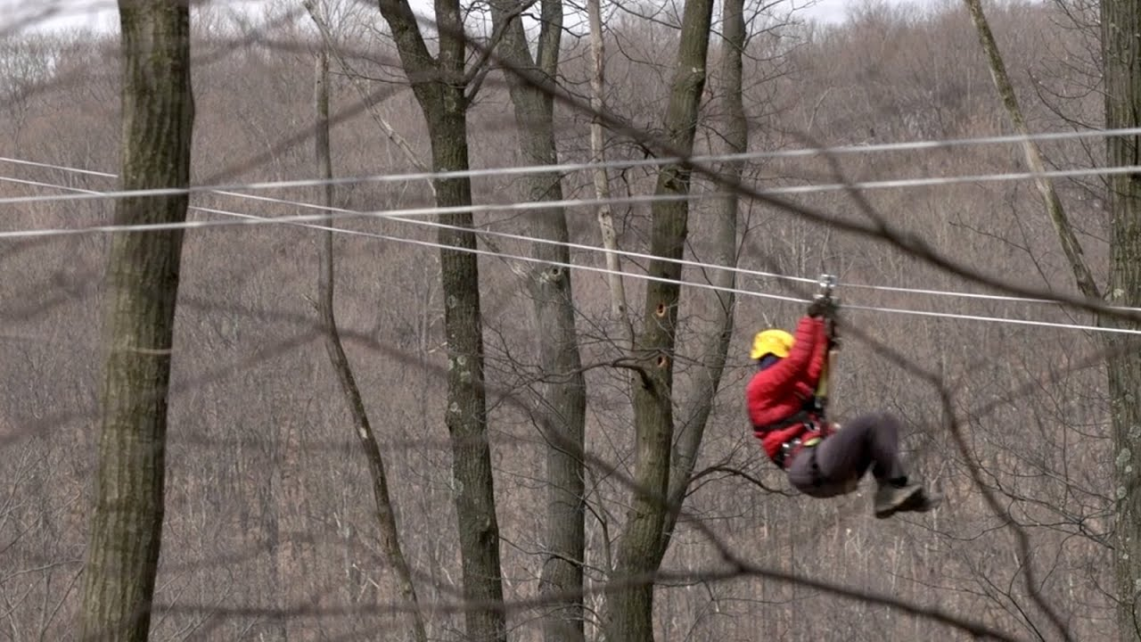 WVUu0027s Canopy Tour Education in the Trees & WVUu0027s Canopy Tour: Education in the Trees - YouTube