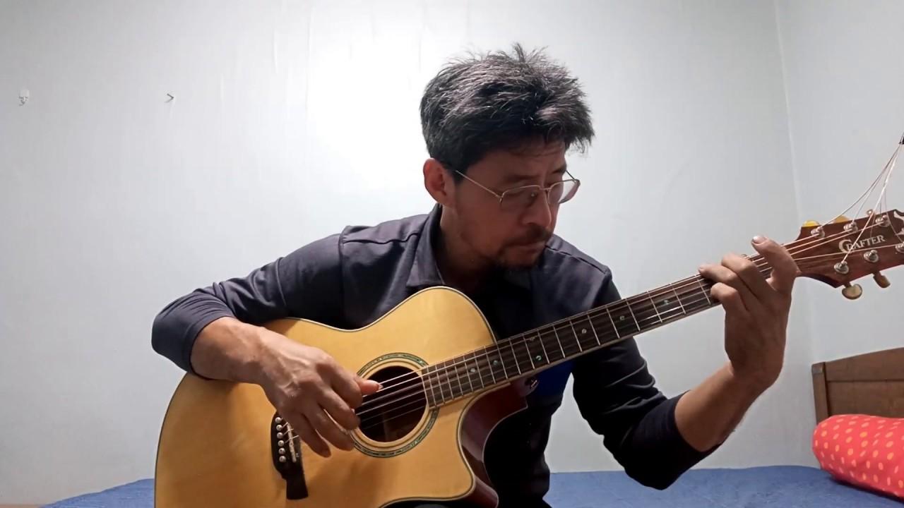 달맞이꽃 ( 이용복) 통기타연주Acoustic Guitar Finger style