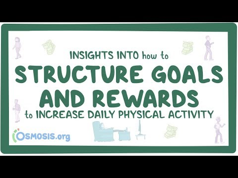 Insights into how to structure goals and rewards to increase daily physical activity