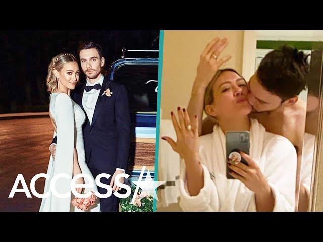 Detailed Look In Hilary Duff & Matthew Koma\'s Fairy Tale Wedding
