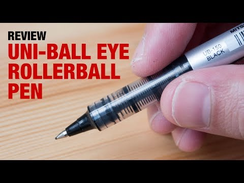 Artist Review: Uniball Eye Rollerball Pen