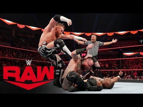 Aleister Black Vs. Shelton Benjamin: Raw, Jan. 6, 2020