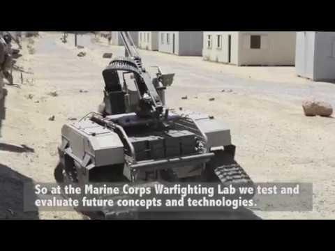 Marines test new futuristic equipment