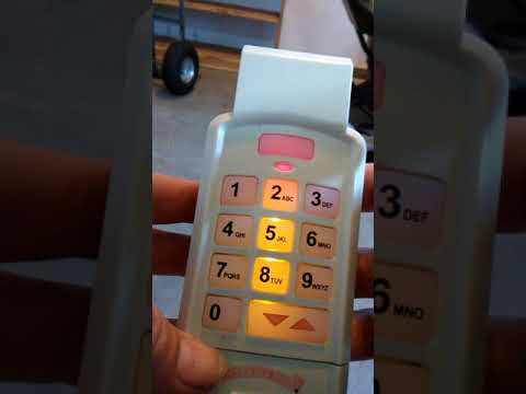 How To Change The Code On The Keypad Of Genie Garage Do