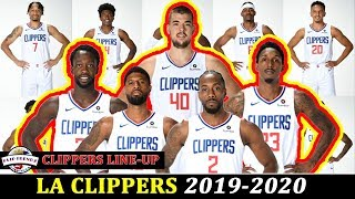 LA CLIPPERS LINE UP 2019-2020