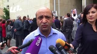 Բողոքի ակցիա․պահանջում են ազատ արձակել Սամվել Բաբայանին