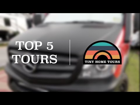 Top 5 Most Viewed Tiny Home Tour Videos