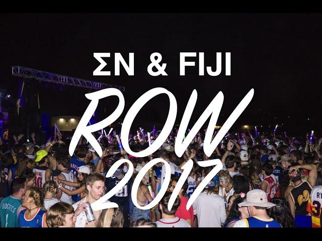 ROW WEEK 2017 at University of Arkansas- ΣΝ & FIJI- (Feat. Lil Yachty)